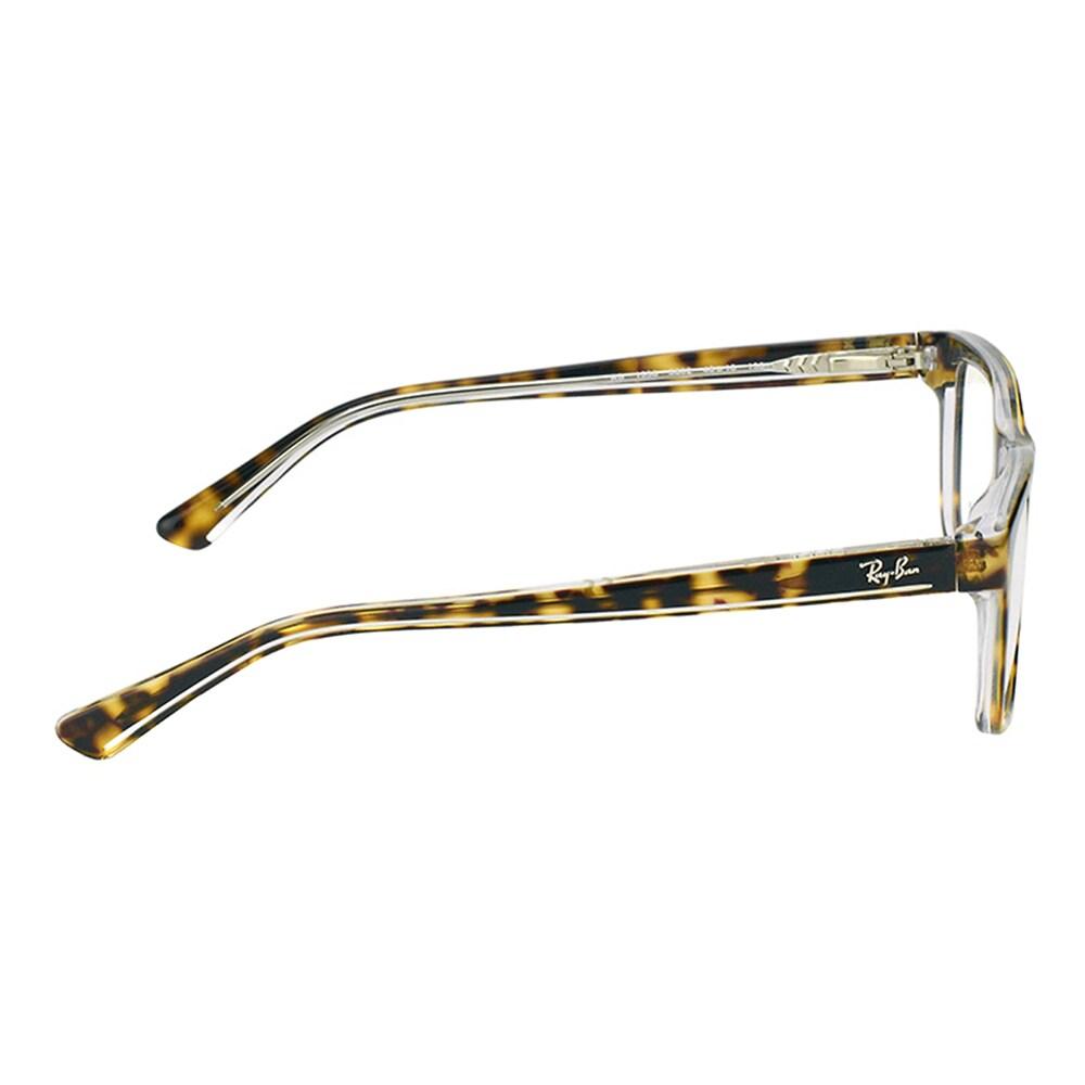 868fa7affc Shop Ray-Ban Junior RY 1536 3602 Dark Havana on Transparent Plastic 48-millimeter  Rectangle Eyeglasses - Ships To Canada - - 12407404