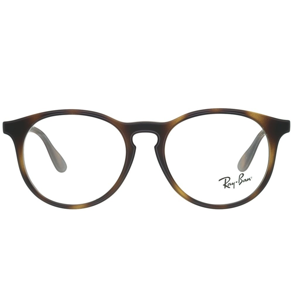 780db8af9f Shop Ray-Ban RY 1554 3616 Children s Rubber Havana and Plastic 48-millimeter  Round Eyeglasses - Free Shipping Today - Overstock - 12407417
