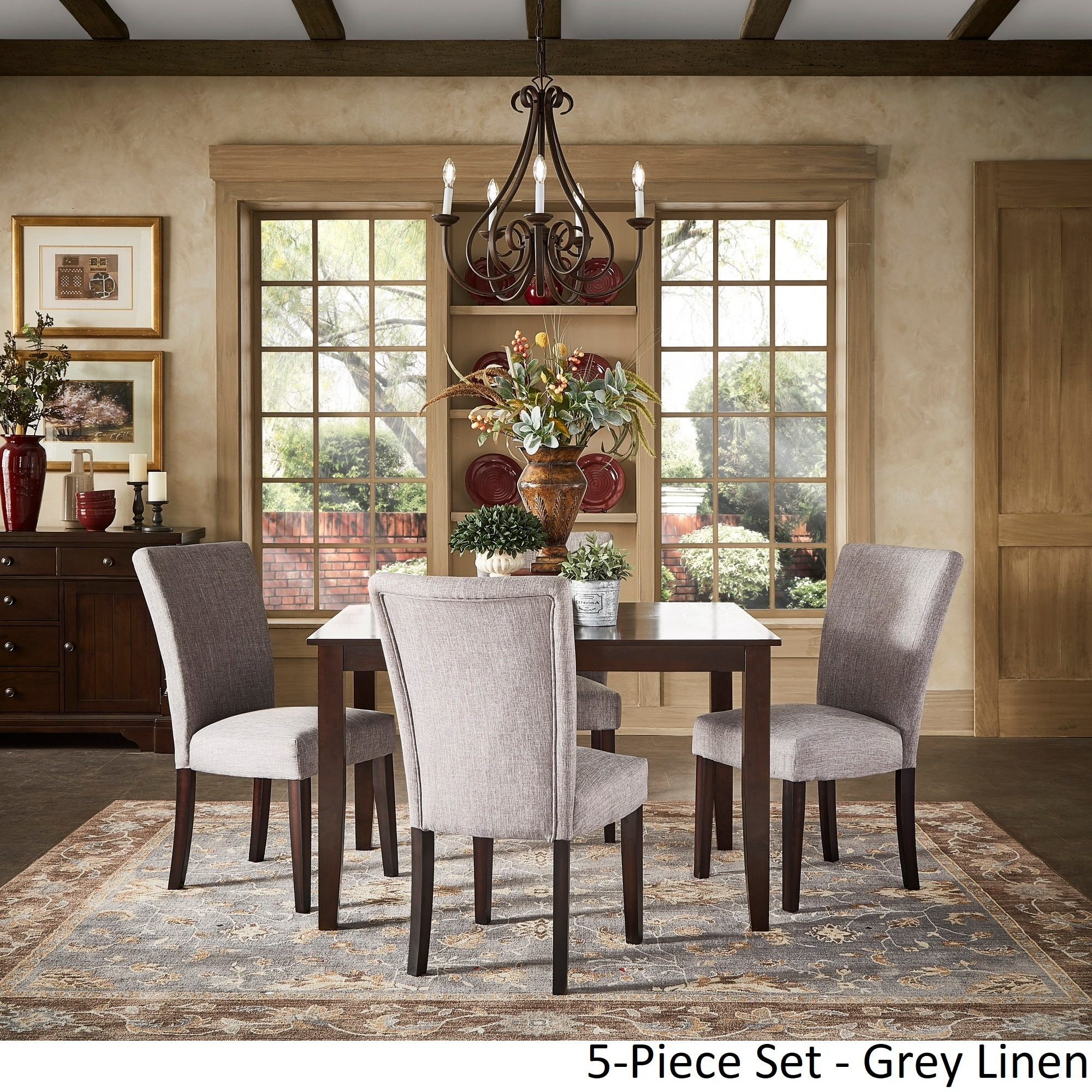 extending dining table sets. Shop Pranzo Rectangular 66-inch Extending Dining Table Set By INSPIRE Q Classic - Free Shipping Today Overstock.com 12408618 Sets C