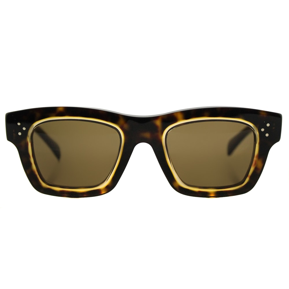 a647bedf8f5 Shop Celine CL 41396 T7F Gaby Dark Havana Honey Plastic Rectangle Brown  Lens Sunglasses - Free Shipping Today - Overstock - 12410522