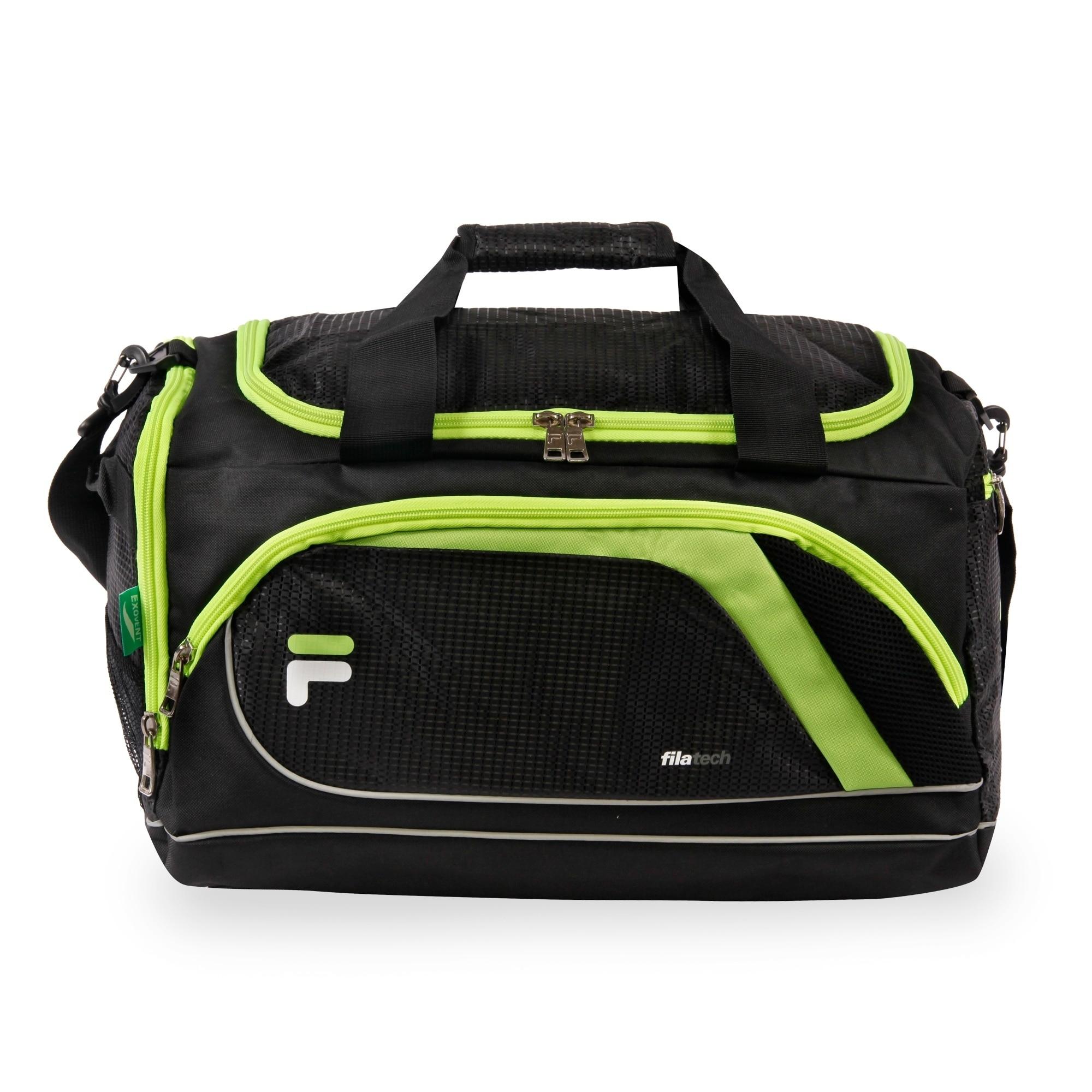 8181e451fb93 Shop Fila Advantage Small Sport Duffel Bag with Shoe Pocket - Free ...