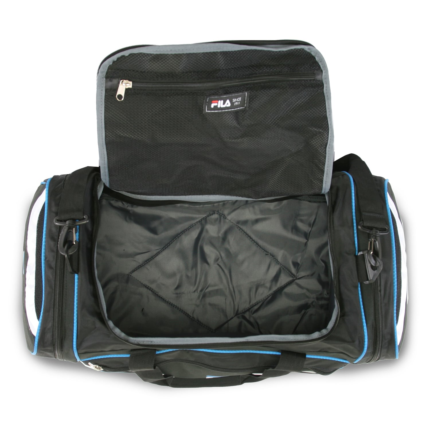 Shop Fila Acer Large Sport Duffel Bag - Free Shipping On Orders Over  45 -  Overstock - 12417045 80affbf881df1