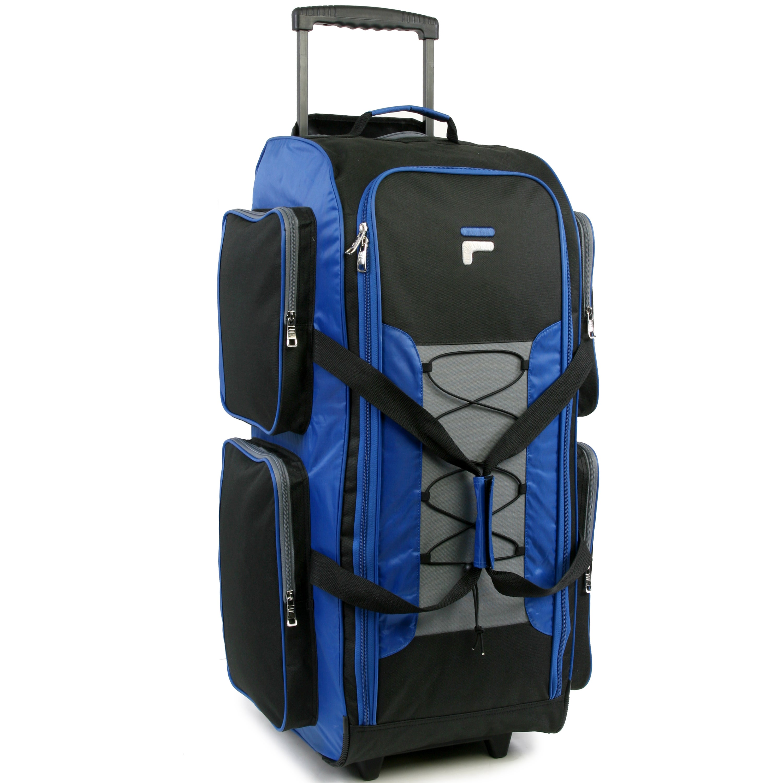 763e075a12 Shop Fila 32-inch Lightweight Rolling Duffel Bag - Free Shipping Today -  Overstock - 12417087
