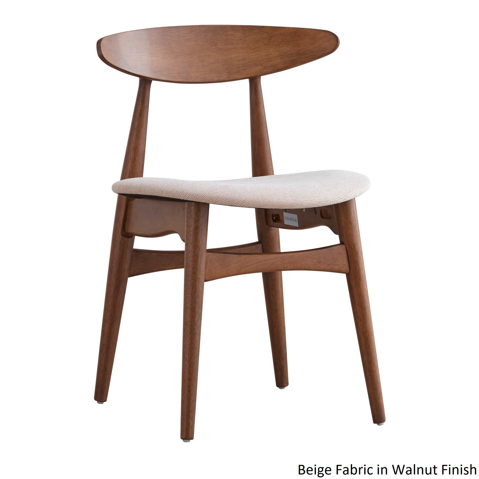 iNSPIRE Q Modern Norwegian Danish Tapered Dining Chairs (Set of 2) - Free  Shipping Today - Overstock.com - 19235952