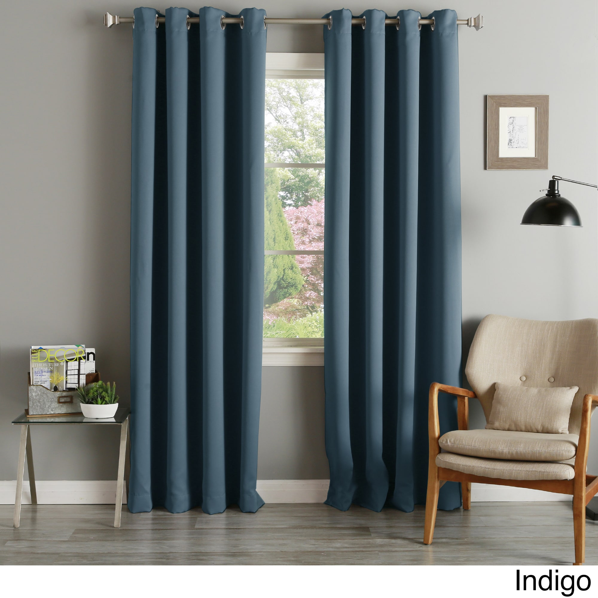 pack grommet cur of turquoise treatment blackout panels products chrome with thermal turq curtains design curtain insulated window white chevron