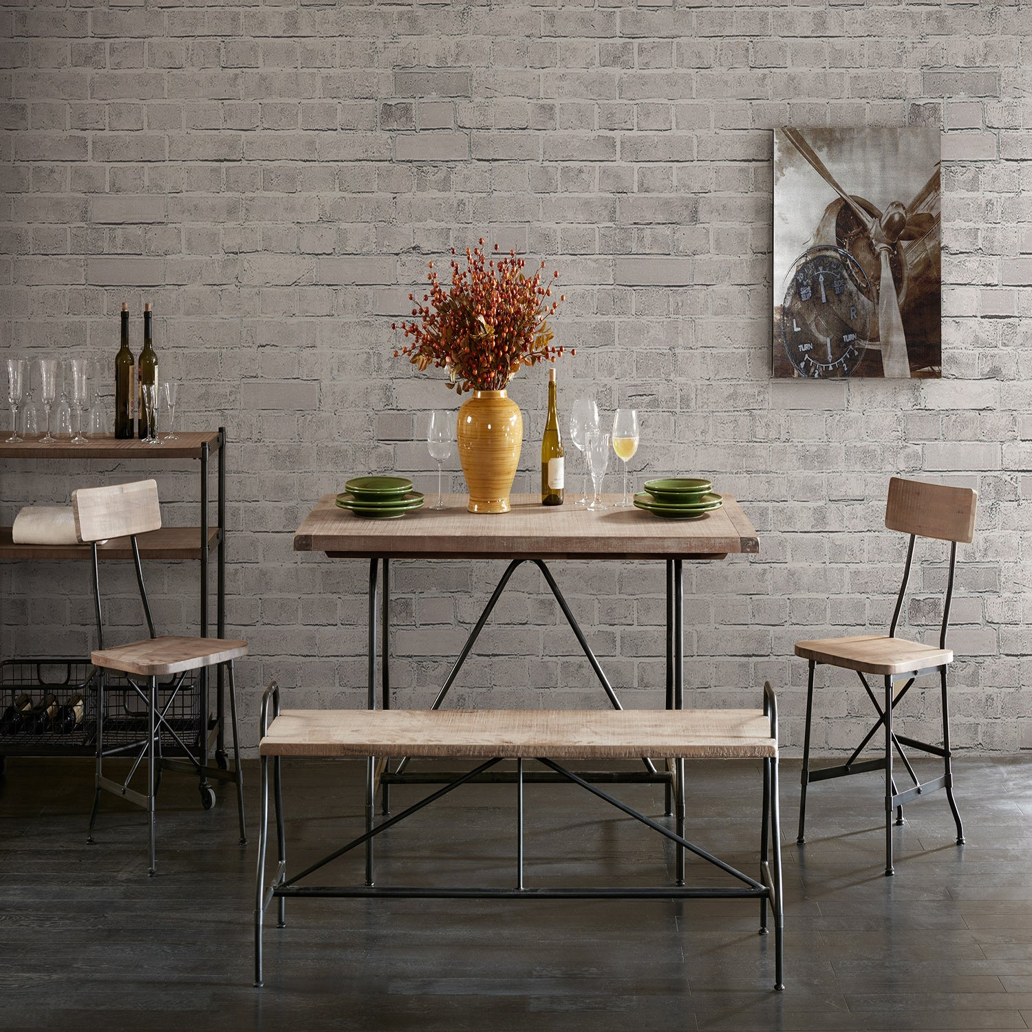 Piper Adjustable Height Dining Table