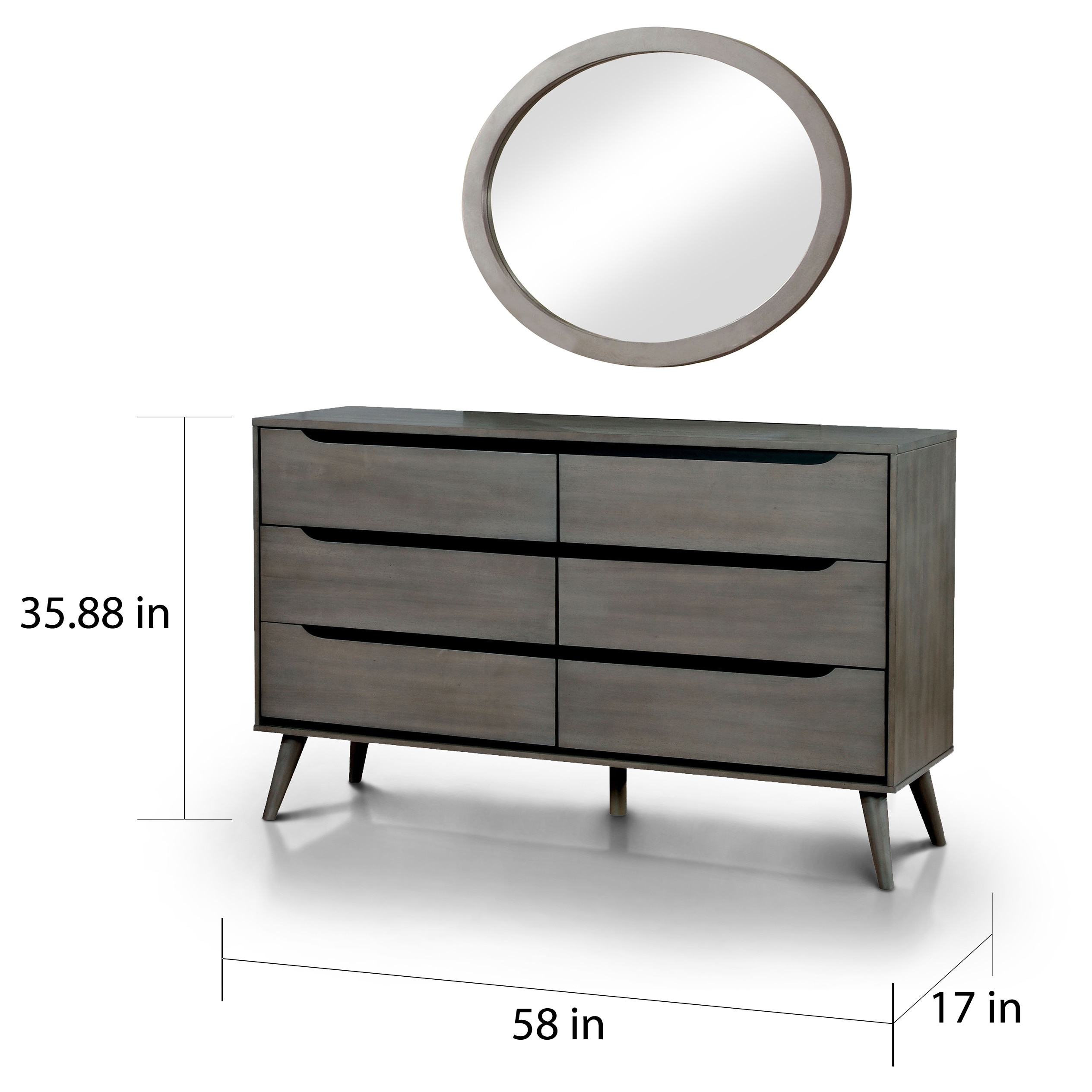 and furniture dresser set bedroom with mirror grey for vanity mirrored black