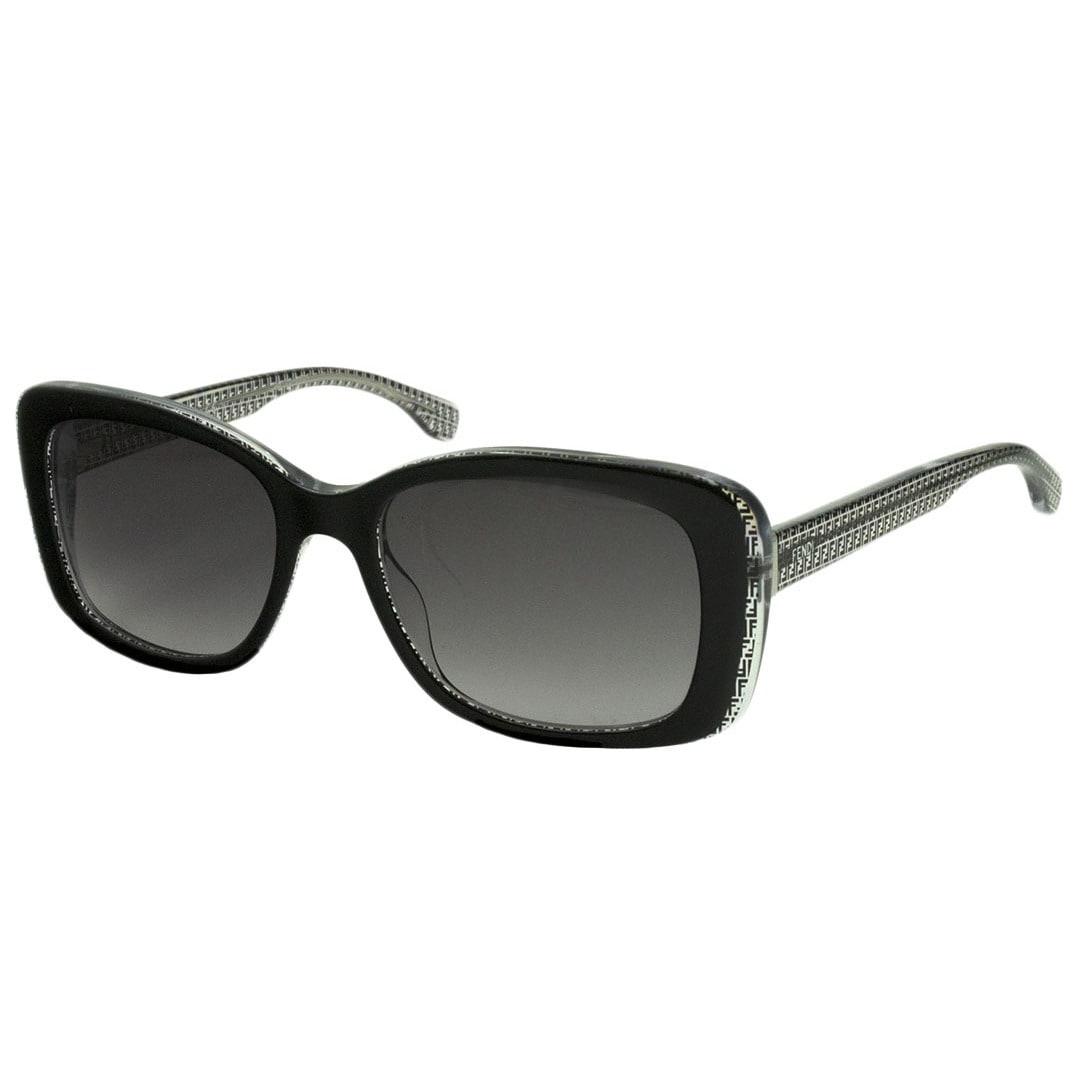 36f46f23bb2d Shop Fendi 0002 S-06ZV(EU) Square Gray Gradient Sunglasses - Free Shipping  Today - Overstock - 12448586