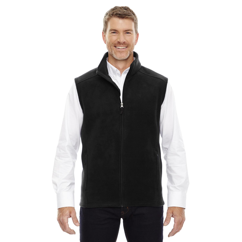 7b719ae72cf3 Shop Men s Big and Tall Black Fleece Vest - On Sale - Free Shipping ...
