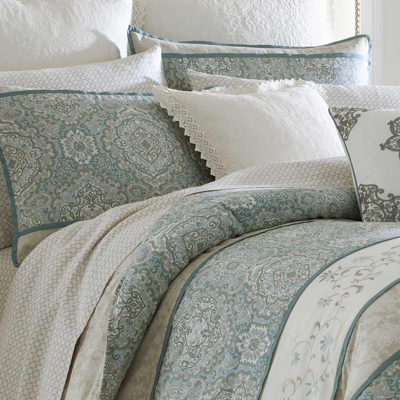 Shop Laura Ashley Ardleigh Cotton Comforter Set Free Shipping