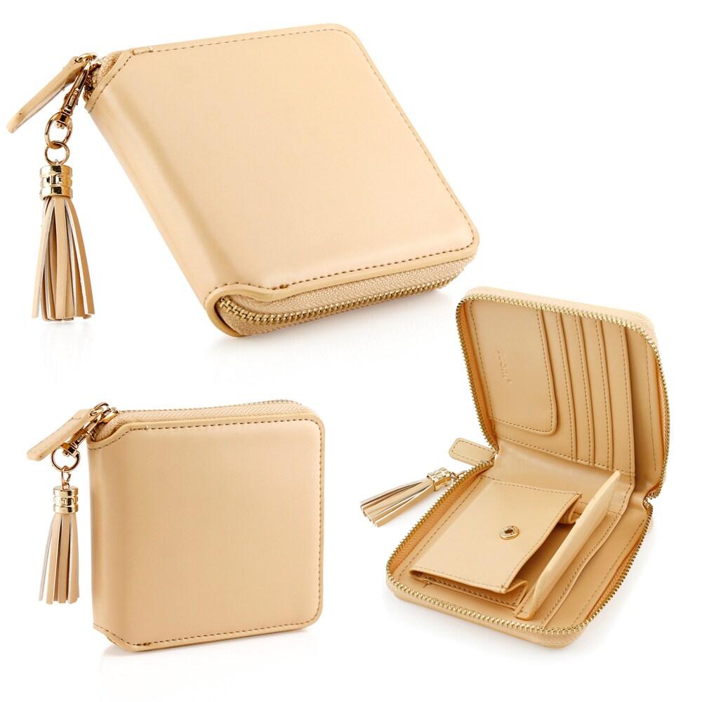 Shop Gearonic Fashion Women Flip PU Leather Long Wallet Clutch Card ...