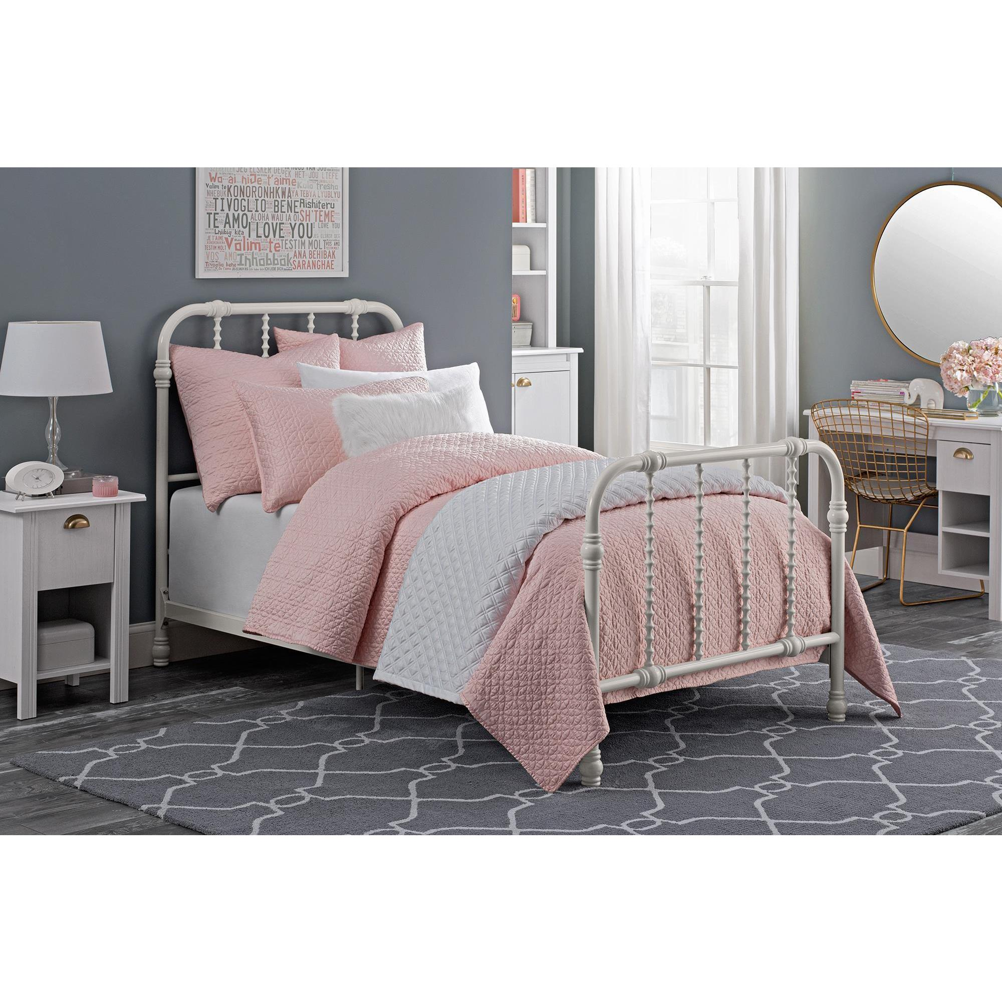 home product twin dhp light bed alexander upholstered shipping bedding free grey garden today overstock