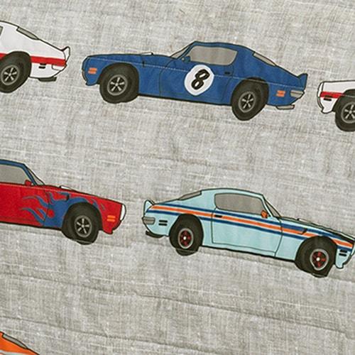 Shop Lush Decor Race Cars Print 3 Piece Quilt Set On Sale Free