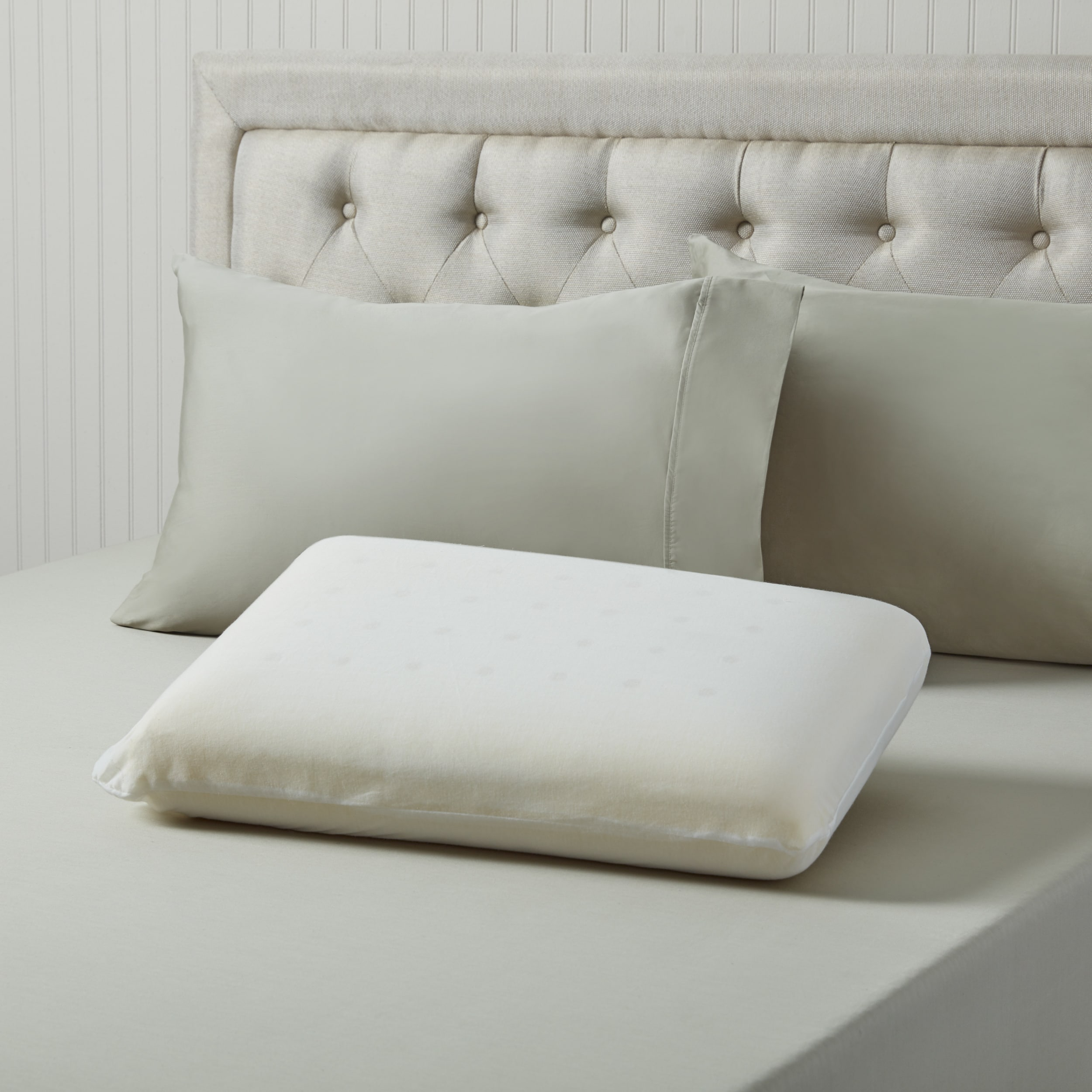 ticking bed cole charlie cotton products pillow pico linen