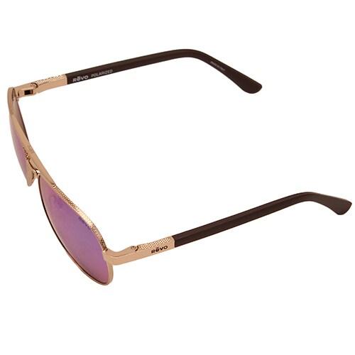 d608b61e13 Shop Revo Raconteur Gold Frame Sunglasses with Green Water Serilium Lens -  Free Shipping Today - Overstock - 12485122
