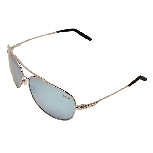 97462f8b28b Shop Revo Men s RE 3087 03 BL Windspeed Sunglasses With Chrome Frame and Blue  Water Serilium Lens - Free Shipping Today - Overstock - 12485291