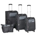 Nine West Corra 4-piece Expandable Spinner Luggage Set