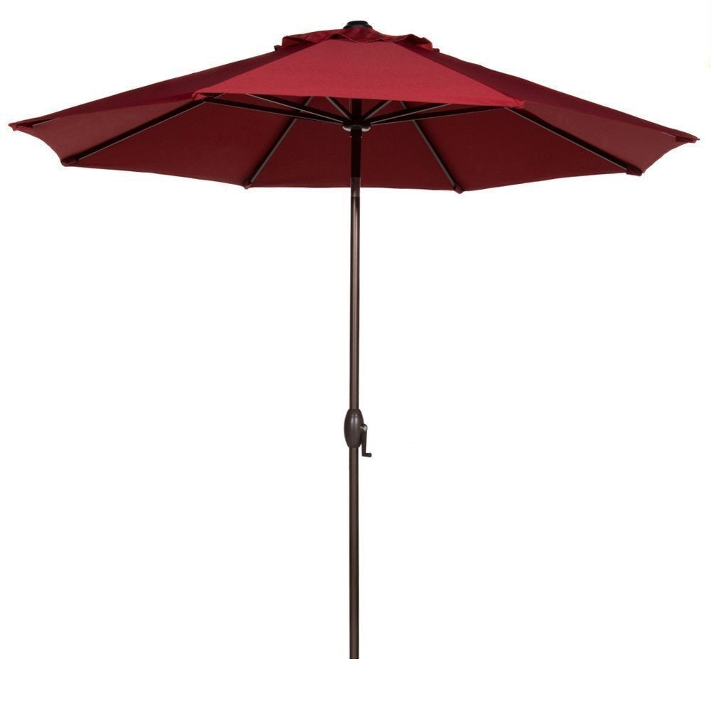Octagon Patio Umbrella With Adjustable Tilt Aluminum Frame   On Sale   Free  Shipping Today   Overstock.com   12494395