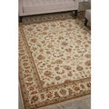 Nourison Royalty Ivory Area Rug (8'6 x 11'6)
