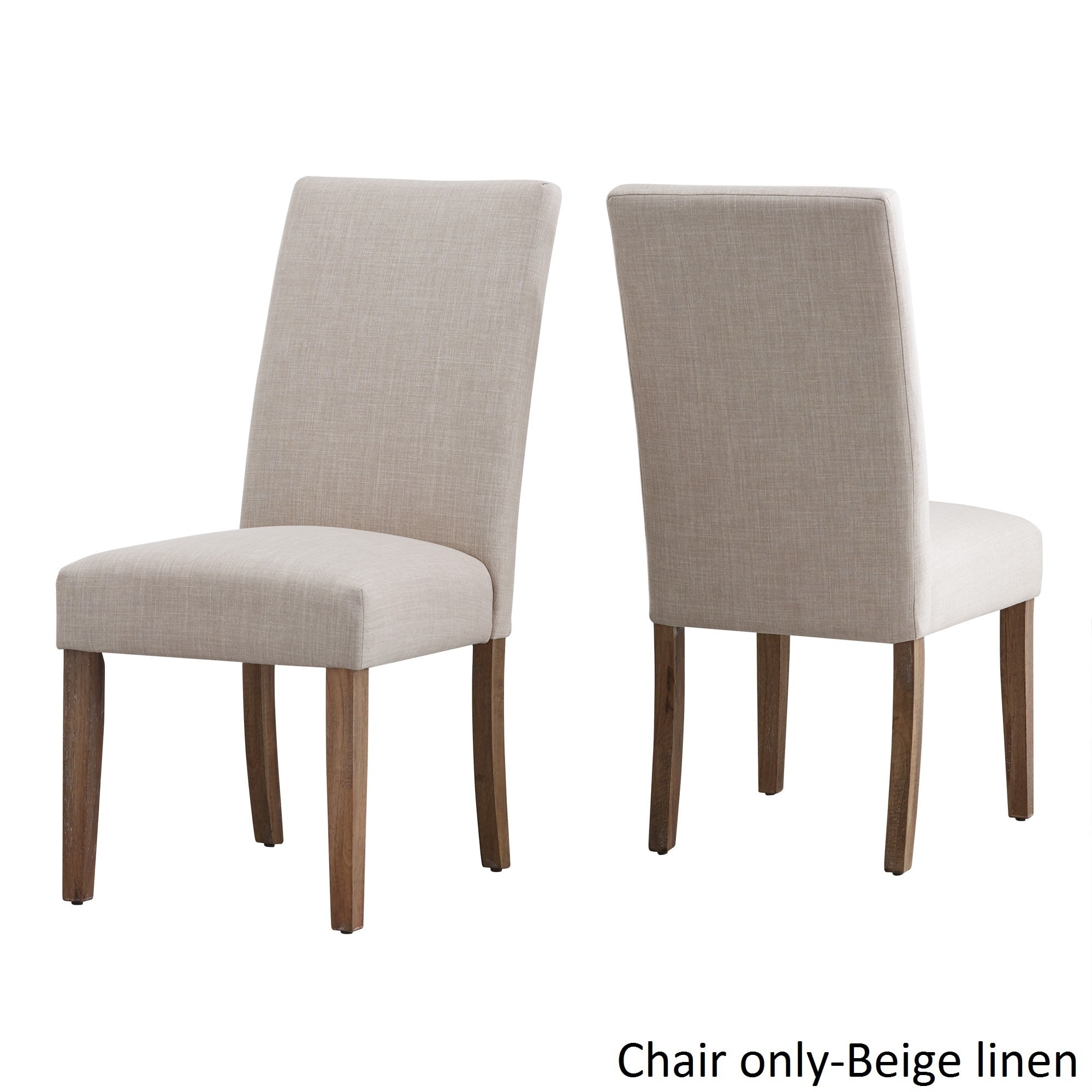 Potomac Slipcovered Parsons Dining Chairs (Set Of 2) By INSPIRE Q Artisan    Free Shipping Today   Overstock.com   19309519