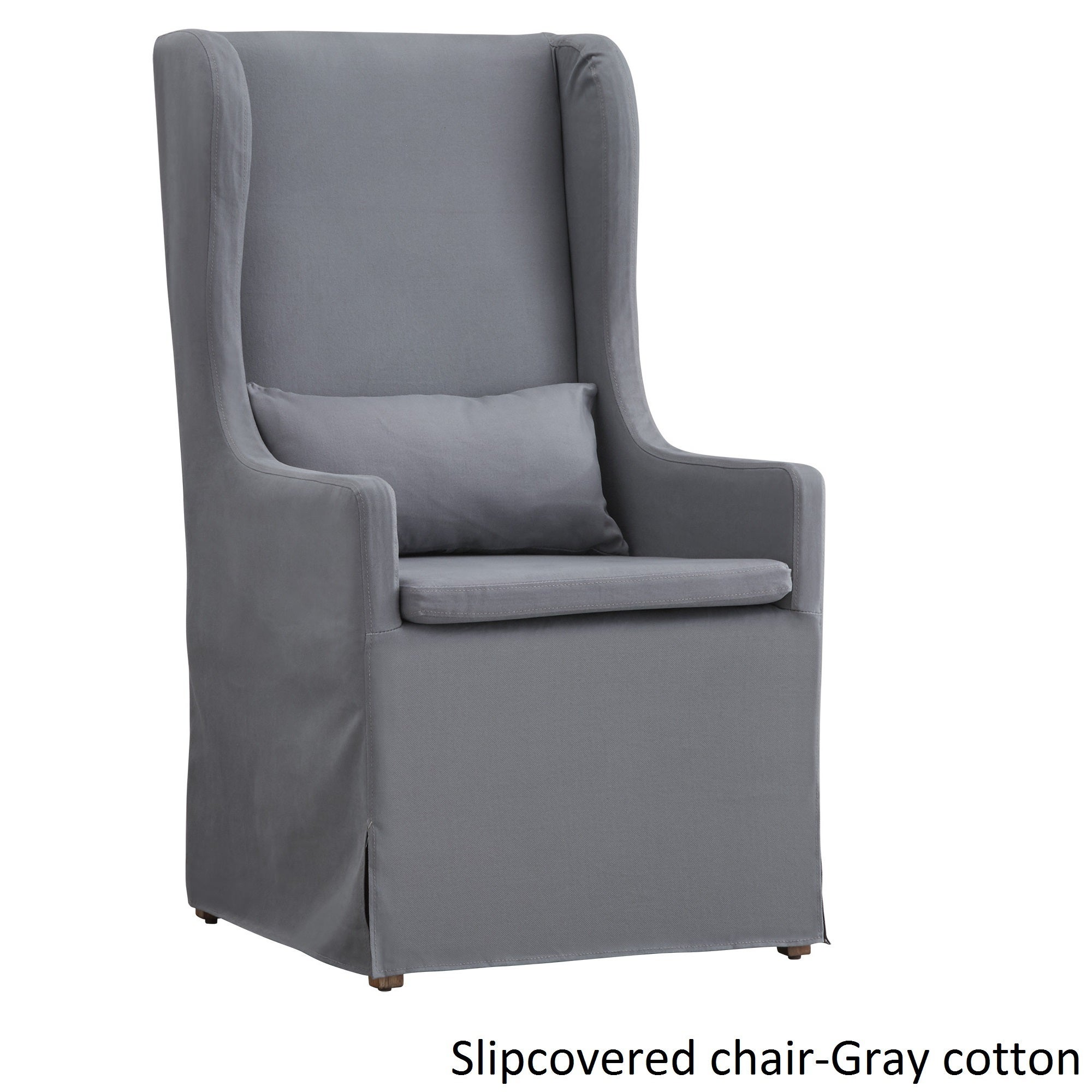 Potomac Slipcovered Wingback Host Chair by iNSPIRE Q Artisan - Free  Shipping Today - Overstock.