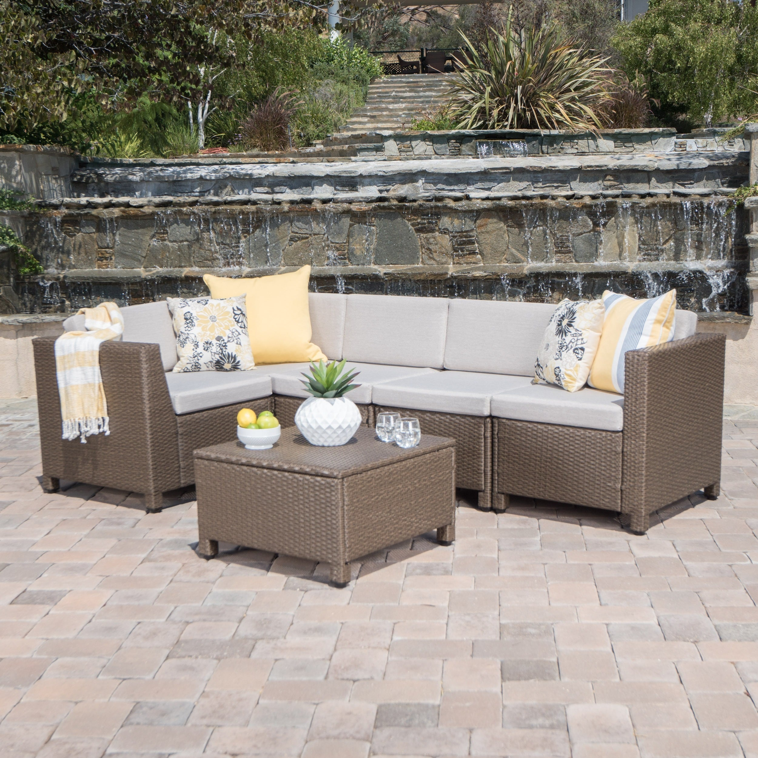 choice set outdoor furniture walmart products bench table df folding chairs best dining w center garden patio