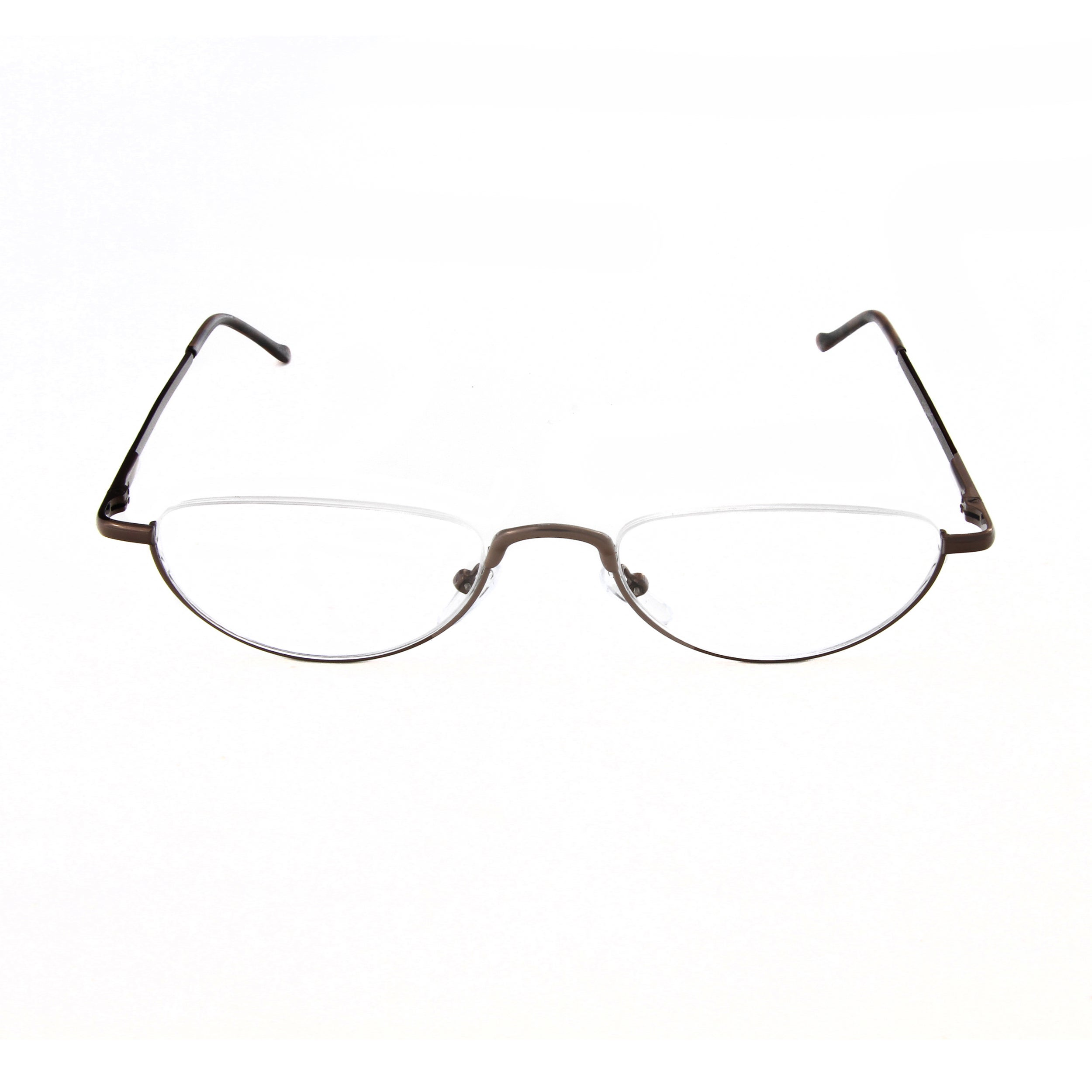 f955537fa88 Shop Hot Optix Unisex Oval Semi-rimless Reading Glasses - Free Shipping On  Orders Over  45 - Overstock - 12502986