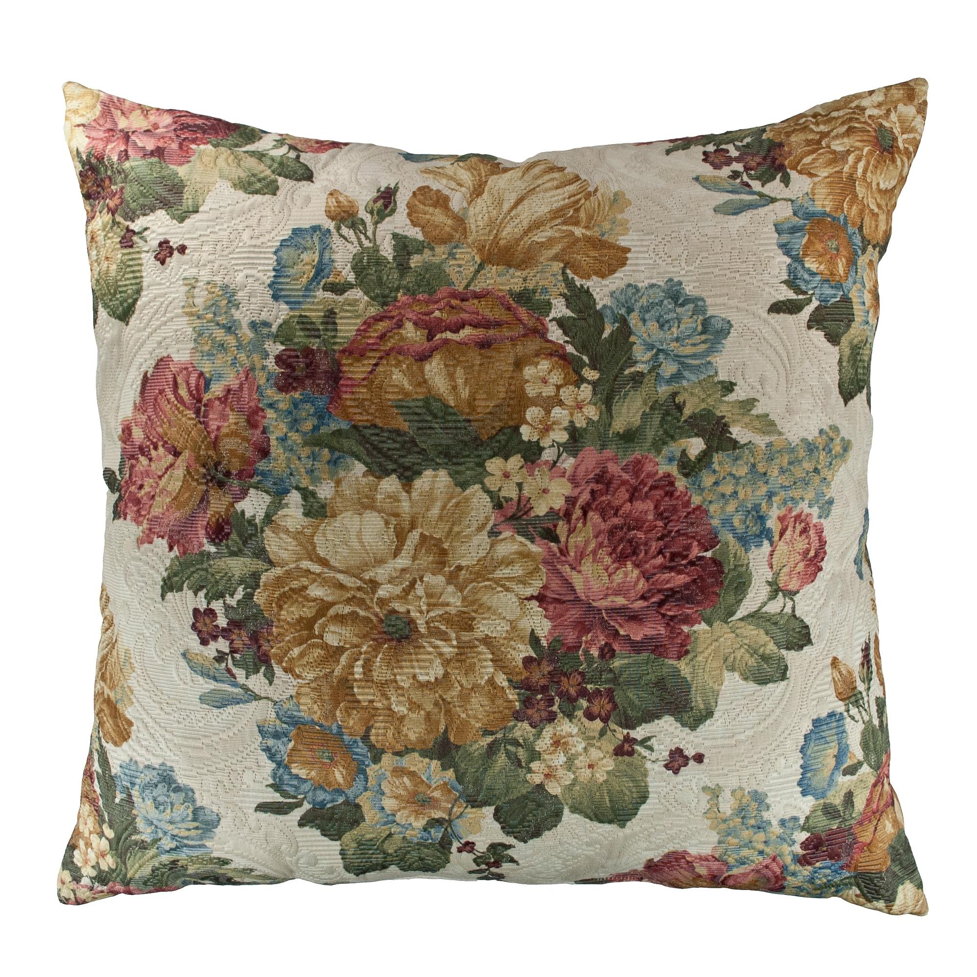 Sherry Kline Teagarden 26-inch Decorative Throw Pillow - Free ...