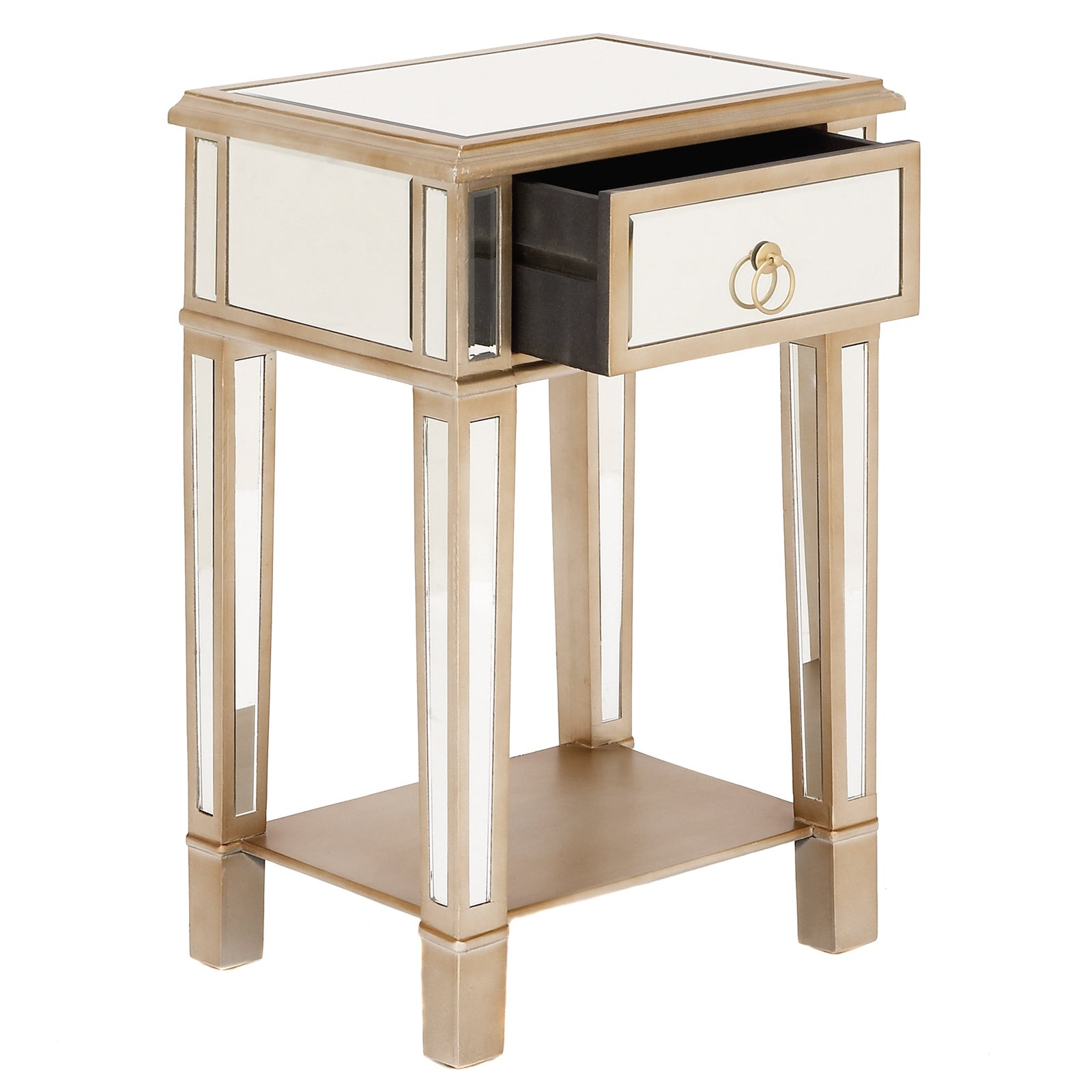 side itm bedside nightstand stand wood night unique drawer bedroom table furniture