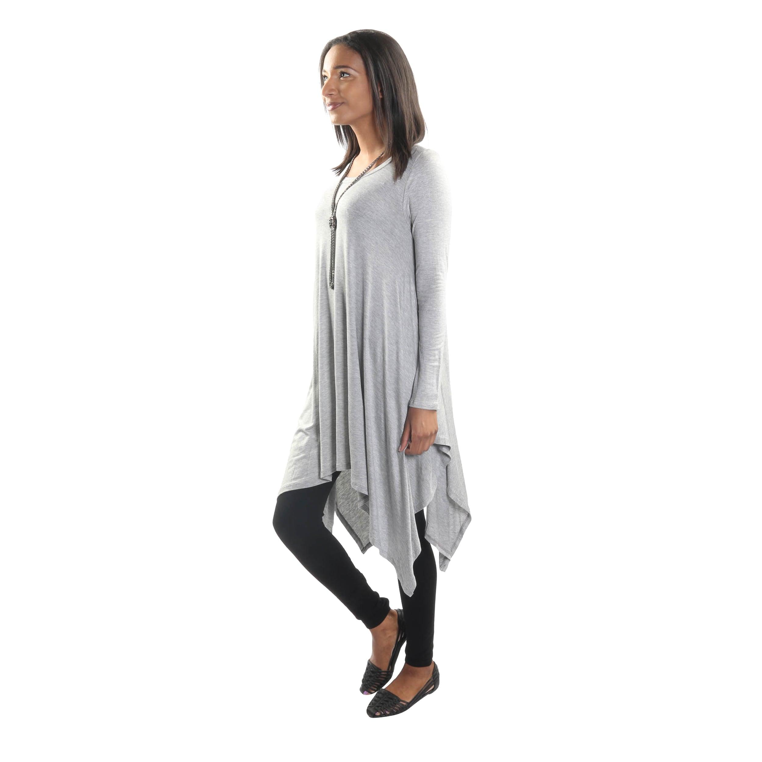 3213f8f92c90 Shop Hadari Women's Long Sleeve Round Neck Dress - Free Shipping On ...