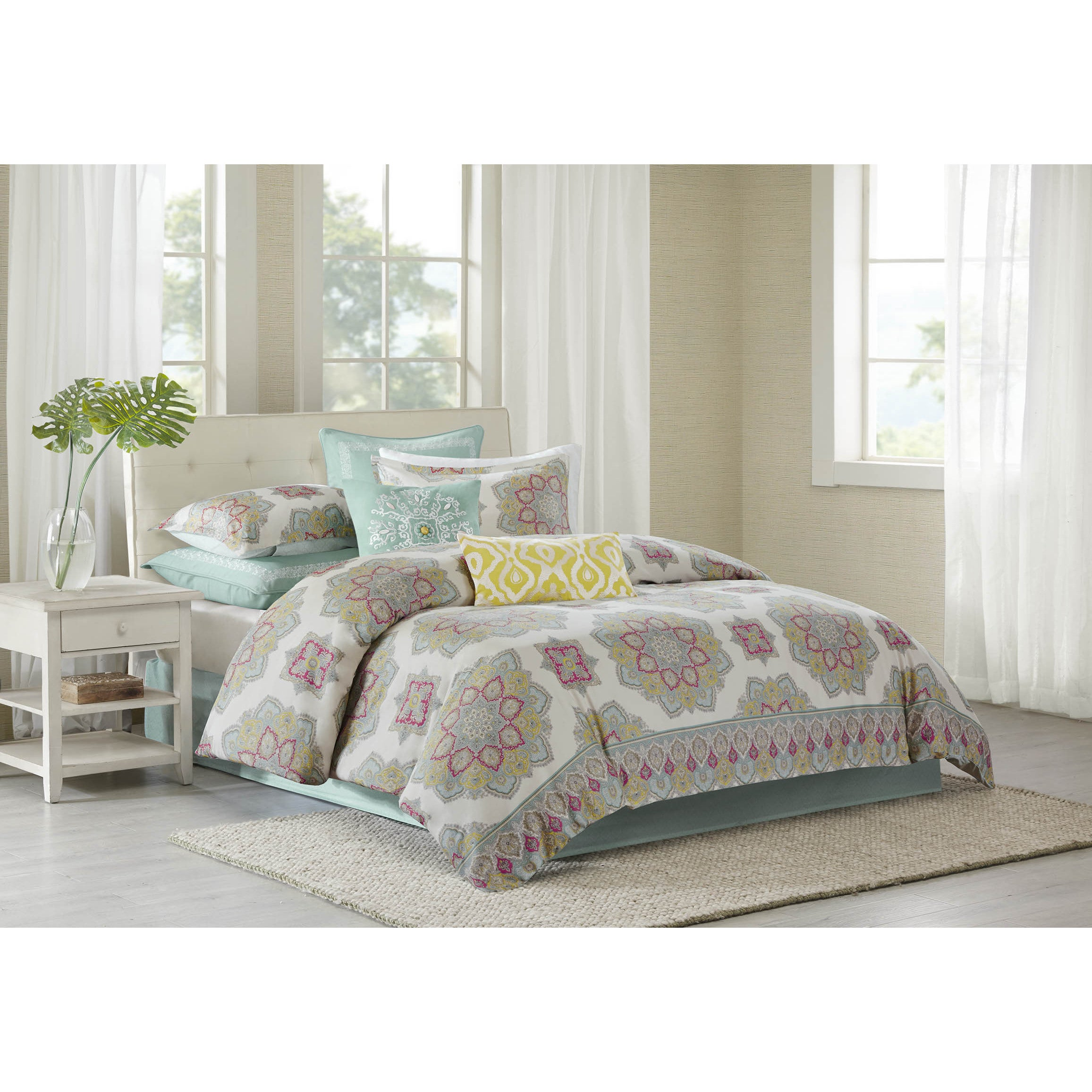 echo bed collection home headboard with jaipur mantle pin bedding comforters