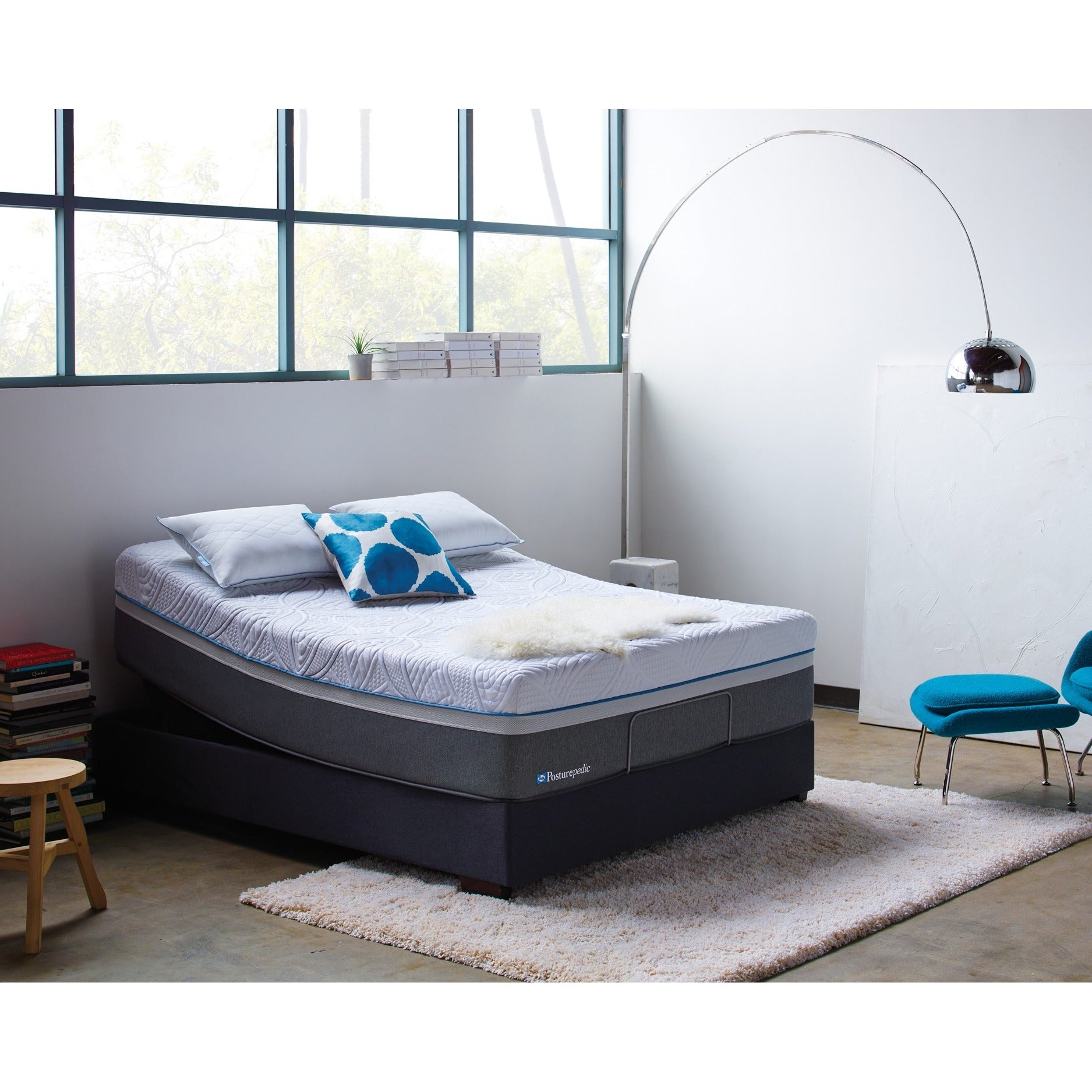 Sealy Posturepedic Hybrid Copper Cushion Firm King Size Mattress Free Shipping Today 12520308