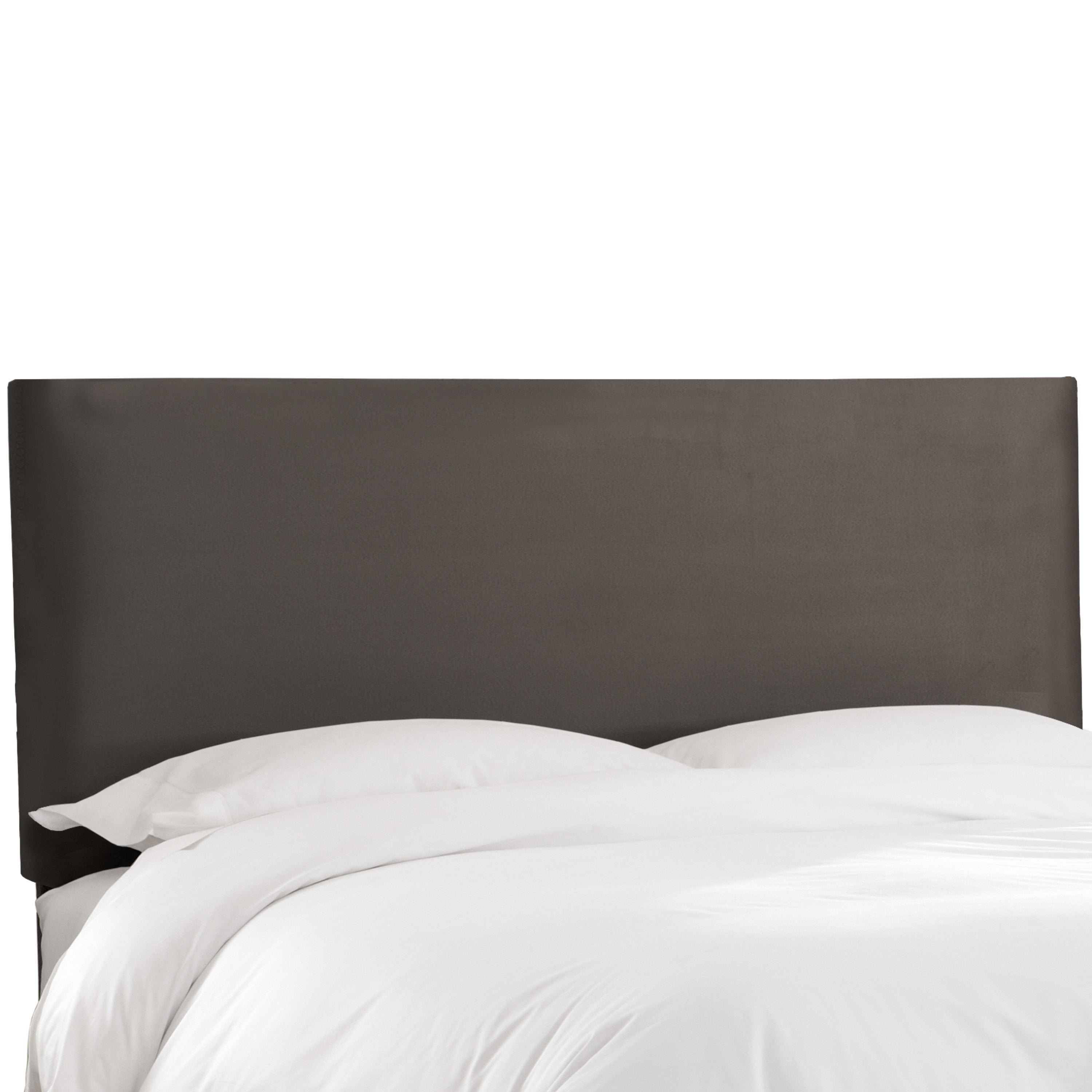Shop skyline furniture premier charcoal upholstered headboard on sale free shipping today overstock com 12520667