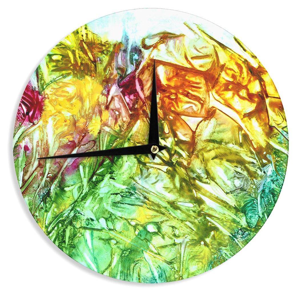 KESS InHouse Rosie Brown \'Kaleidoscope\' Wall Clock - Free Shipping ...