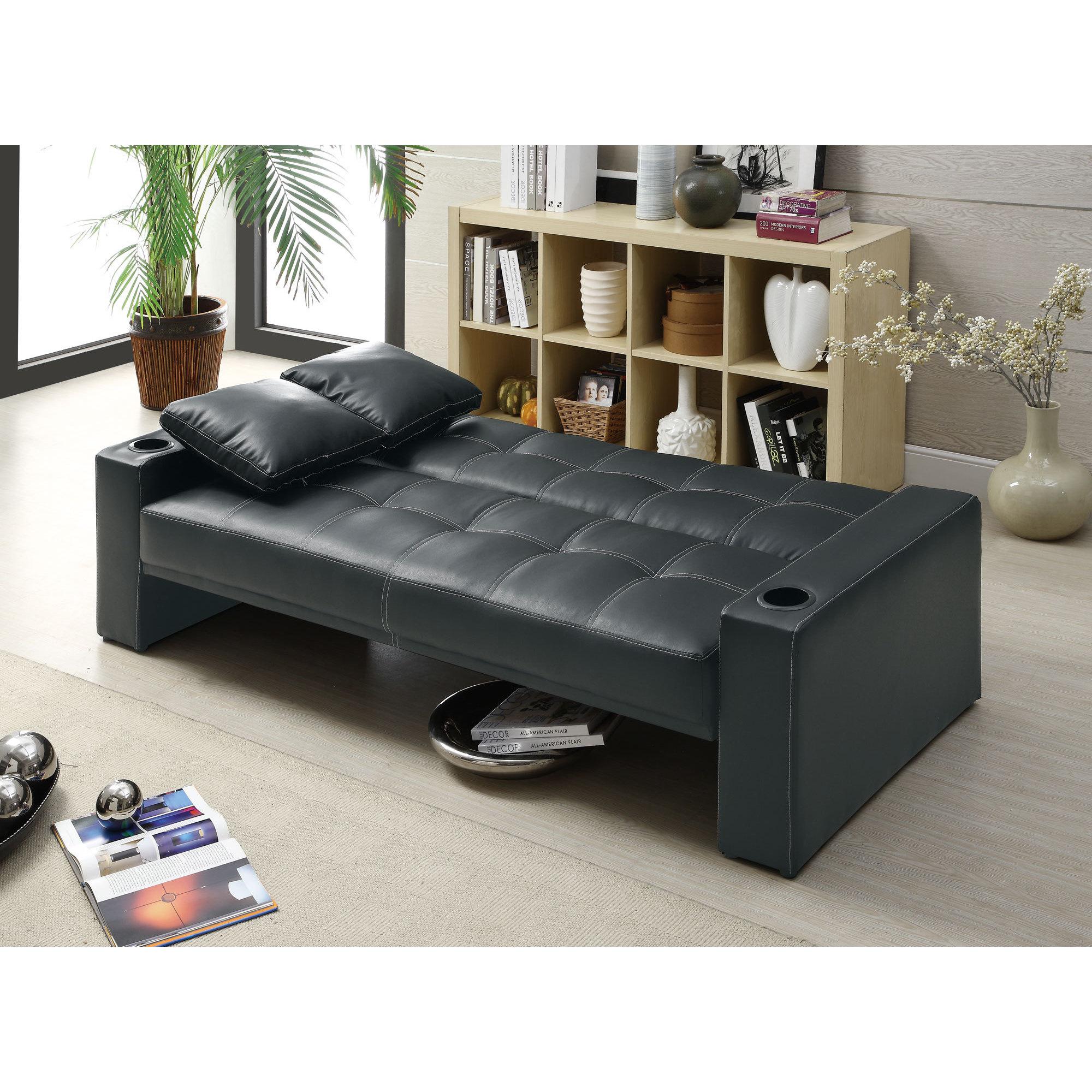 Coaster Company Black Sofa Bed On Free Shipping Today 12529330
