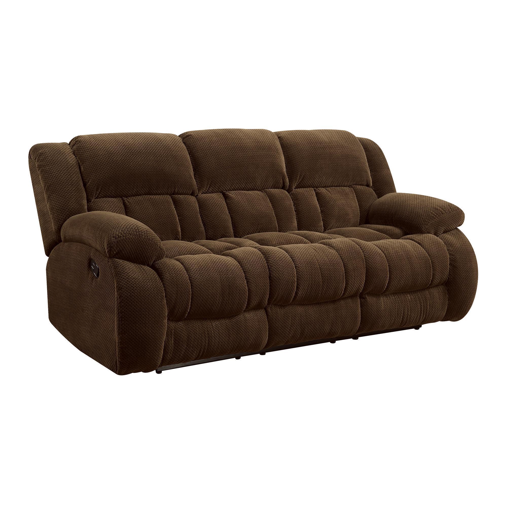 Coaster Company Chenille Motion Sofa Free Shipping Today 12529410