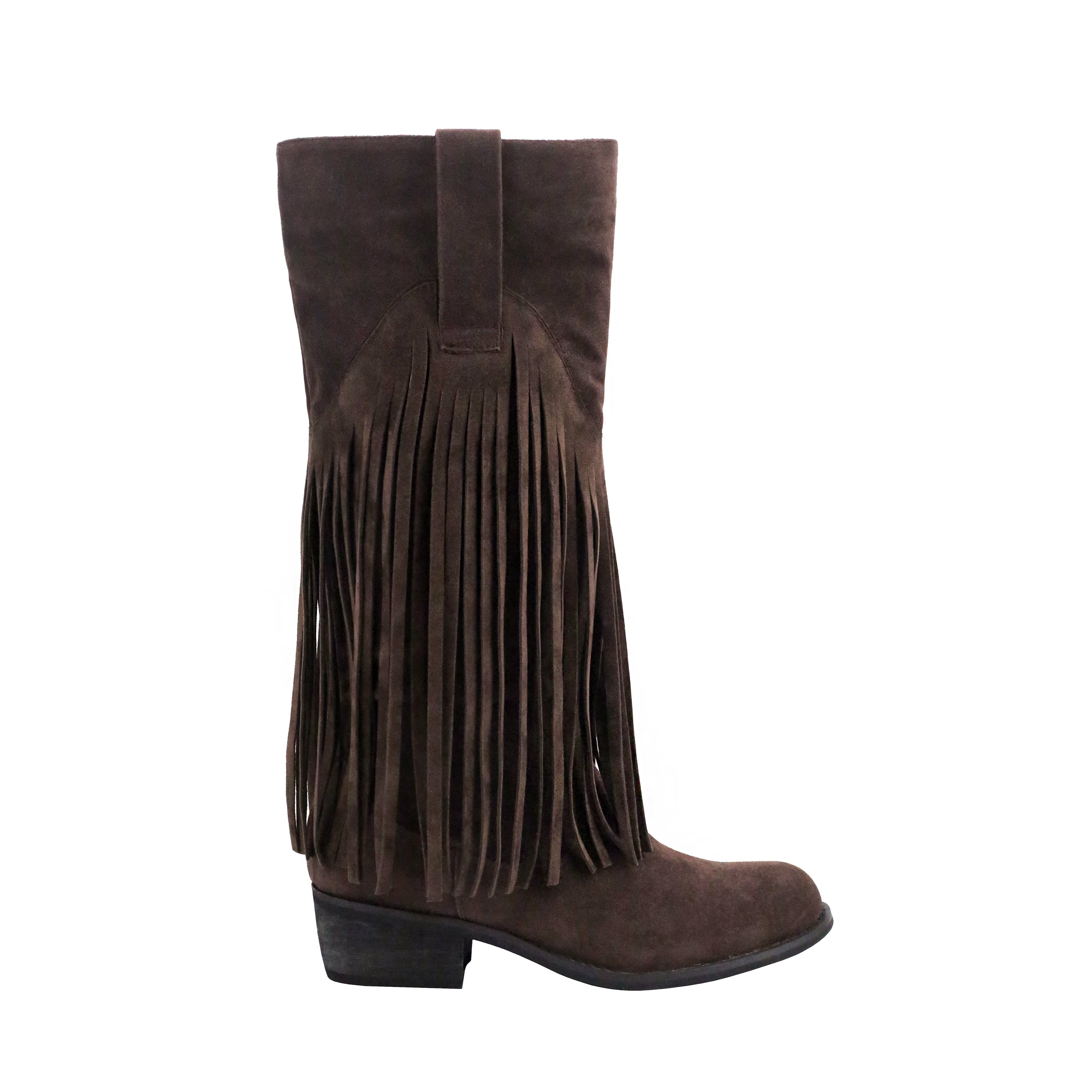 Olivia Miller Liberty Women's ... Fringe Riding Boots
