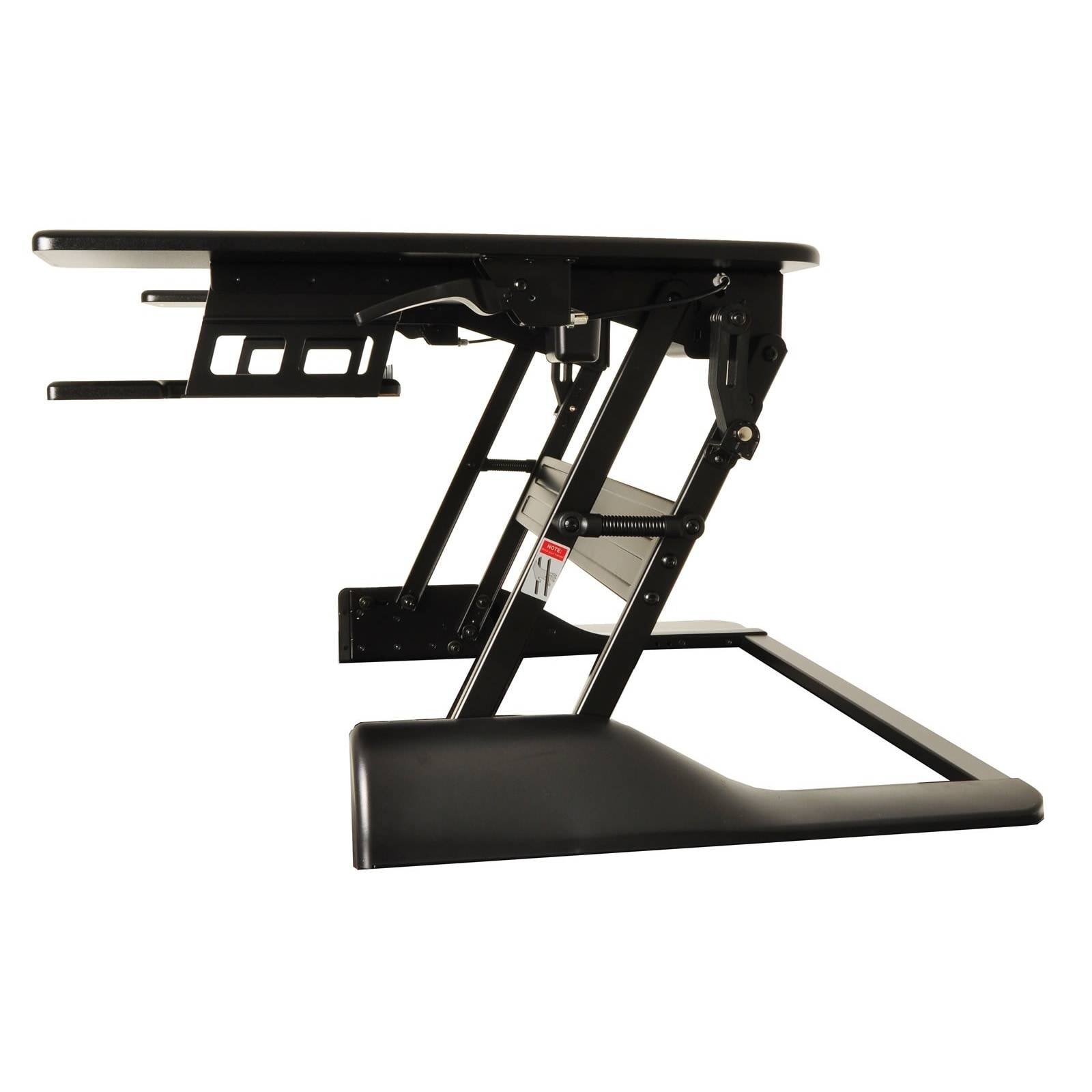 Shop Conquer Ergonomic Adjustable Height Tabletop Standing Desk Workstation    Free Shipping Today   Overstock.com   12543868