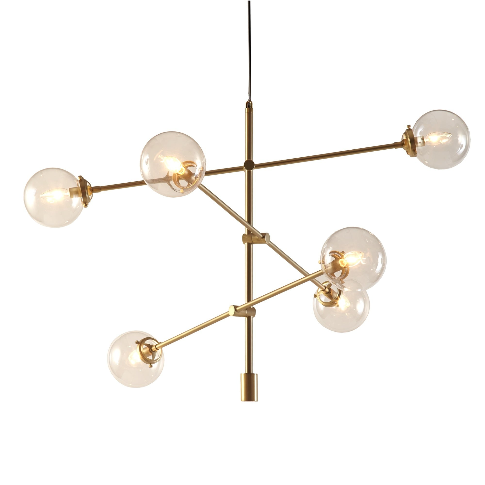 Inkivy cyrus gold chandelier free shipping today overstock inkivy cyrus gold chandelier free shipping today overstock 19346819 mozeypictures Gallery