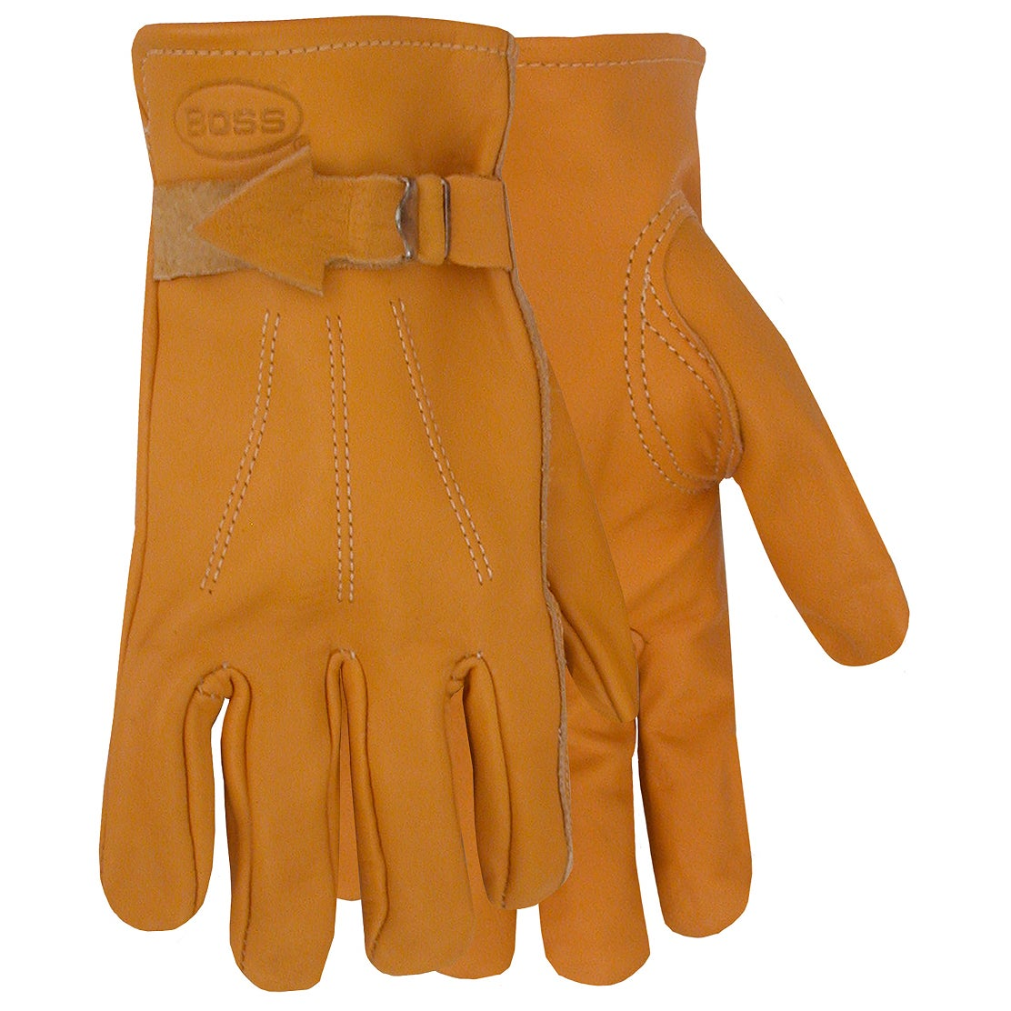 fcbfddece0d2c Shop Boss Gloves 6023J Jumbo Premium Grain Leather Gloves - Free Shipping  On Orders Over $45 - Overstock.com - 12544897