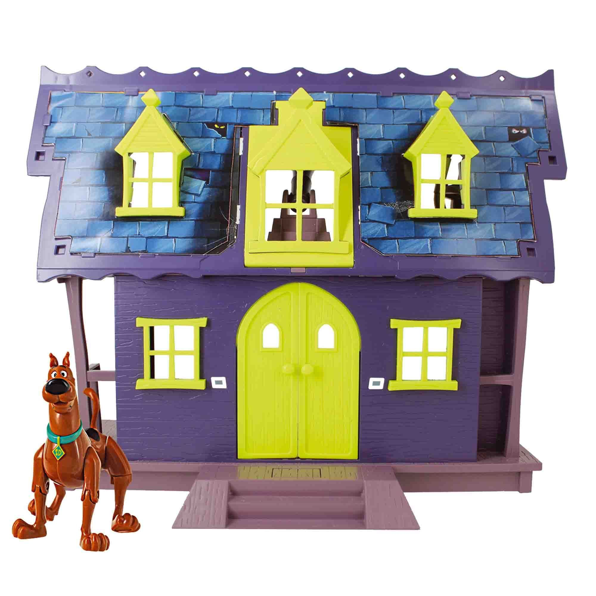 Shop Scooby Doo Mystery Mansion Playset - Free Shipping On Orders ...