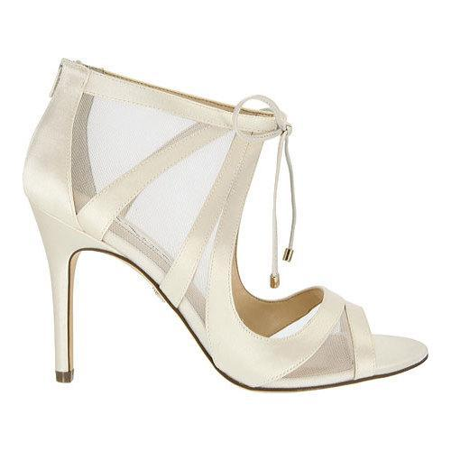 Women's Nina Cherie Peep-Toe Bootie Ivory Crystal Satin/Mesh - Free  Shipping Today - Overstock.com - 19349906