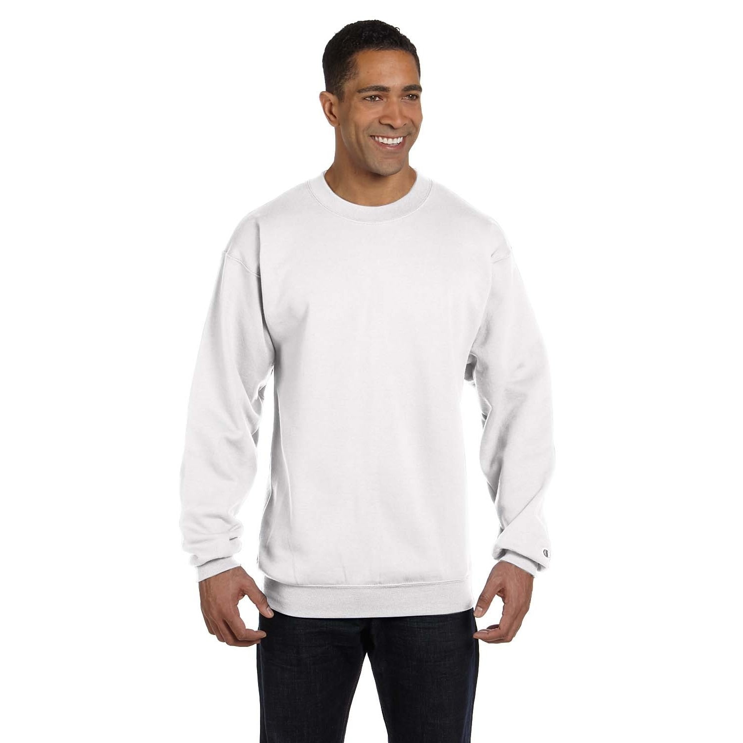 7bc710d856a0 Shop Men's Crew-Neck White Sweater - On Sale - Free Shipping On Orders Over  $45 - Overstock - 12554501