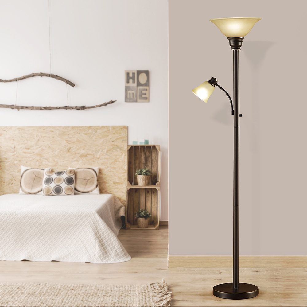 Daughter Torchiere Floor Lamp With Catalina Kerrington 18223 002 71 Inch Oil Rubbed Bronze Mother And