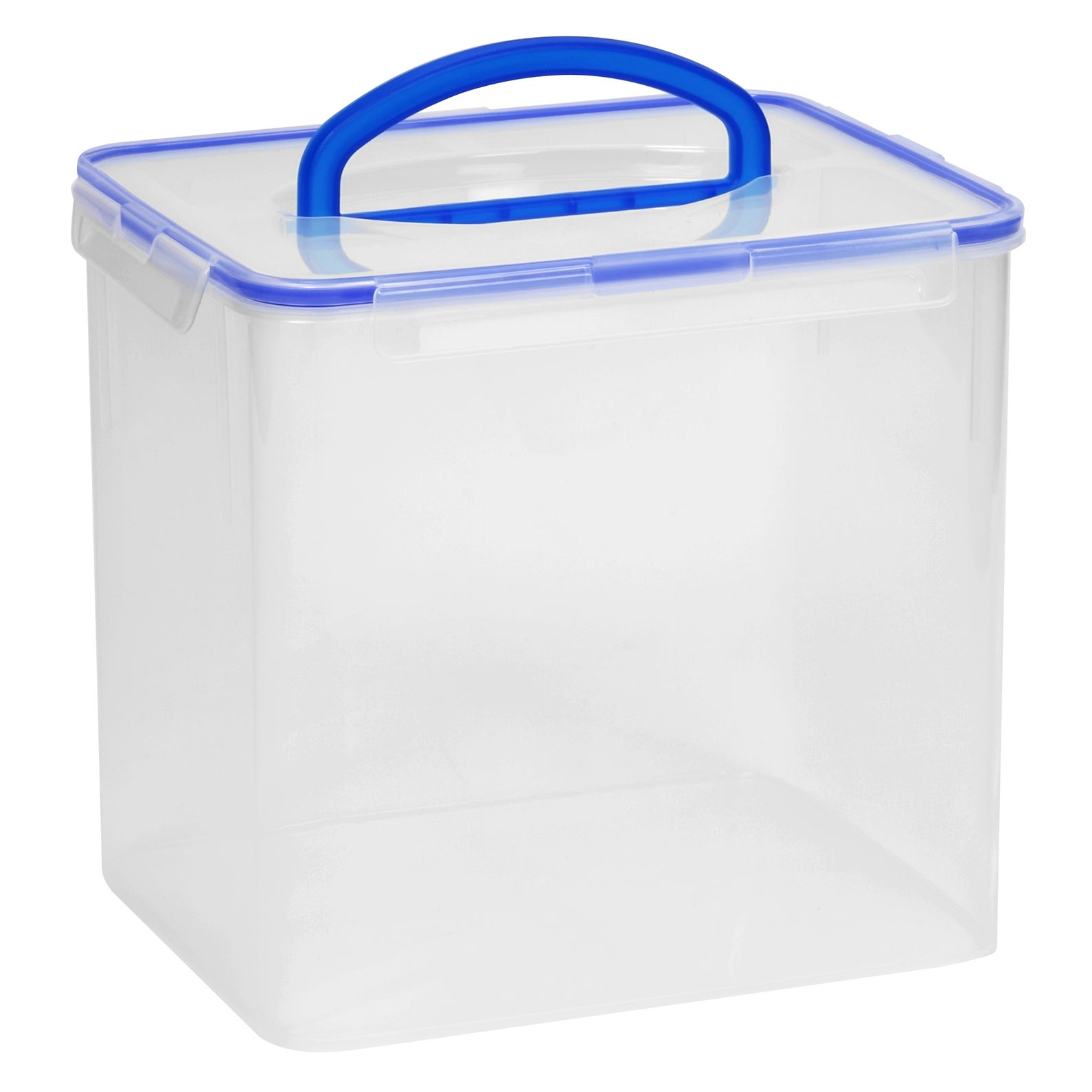 Shop Snapware 1098437 40 Cup Clear Airtight Food Storage Container With Handle - Free Shipping On Orders Over $45 - Overstock.com - 12557666  sc 1 st  Overstock.com & Shop Snapware 1098437 40 Cup Clear Airtight Food Storage Container ...