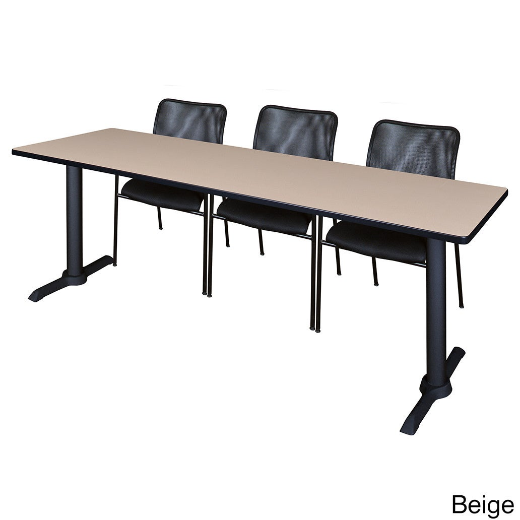 Cain Black Inch X Inch Training Table With Mario Stack - 84 inch conference table