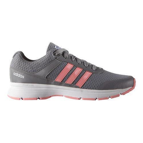 adidas Cloudfoam VS City Grey/Ray Pink/White Women