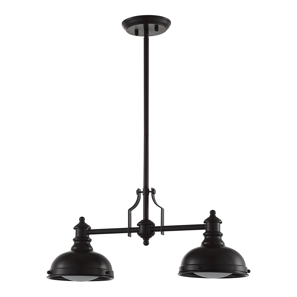 Ove decors bergin ii oil rubbed bronze finish steel led integrated ove decors bergin ii oil rubbed bronze finish steel led integrated pendant double light fixture free shipping today overstock 19398578 arubaitofo Gallery