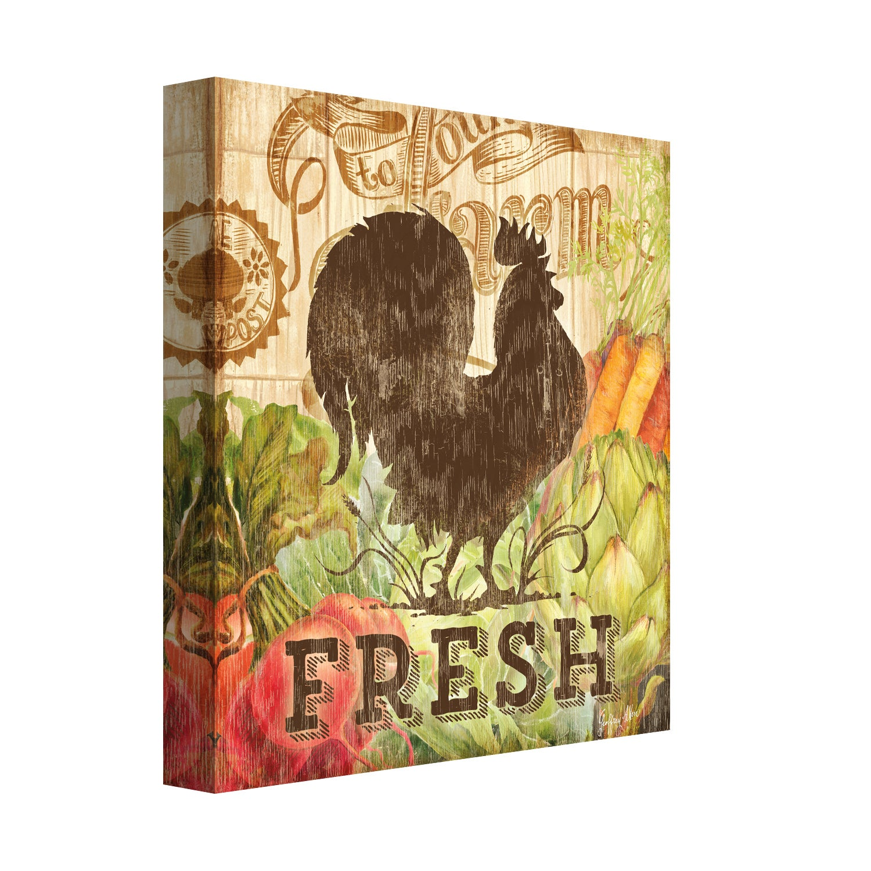 Shop Portfolio Canvas Decor Geoff Allen \'Farm Friends Rooster ...