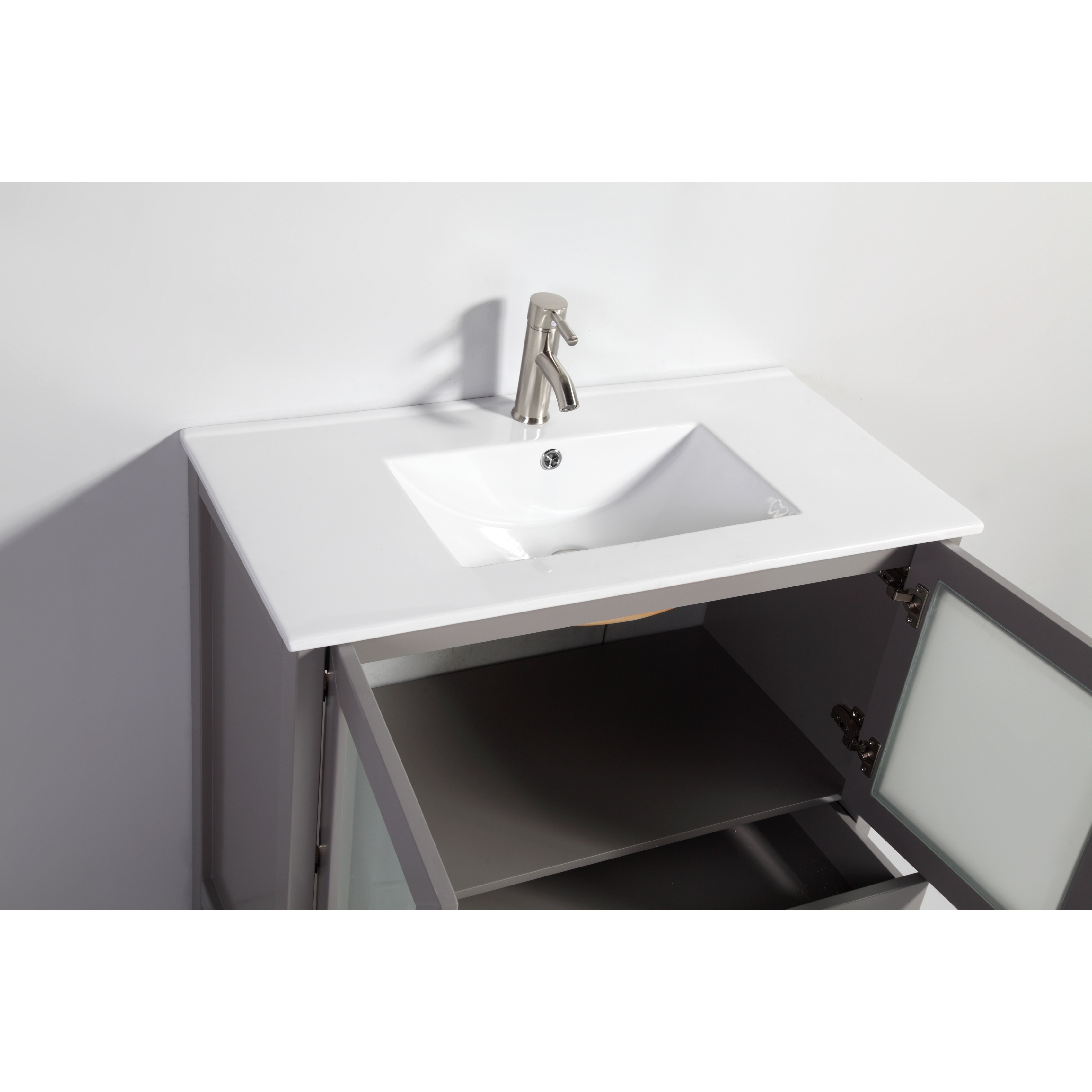 96 inch double vanity. Vanity Art Ceramic Sink Top 96 inch Double Bathroom Set  Free Shipping Today Overstock com 19404477